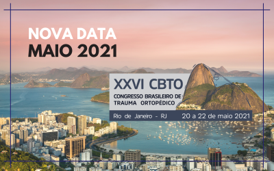 26° CBTO será realizado em 2021